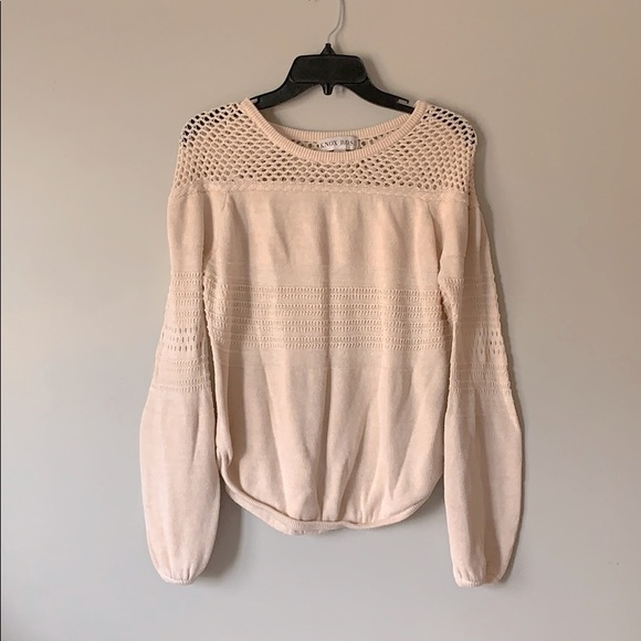 Knox Rose Long Sleeve Knot Sweater